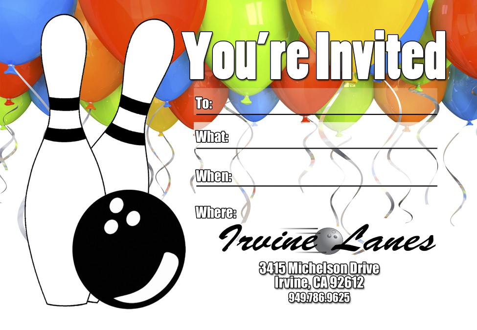 Bday Digital Invite Template